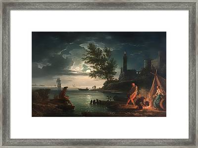 Night Framed Print by Mountain Dreams