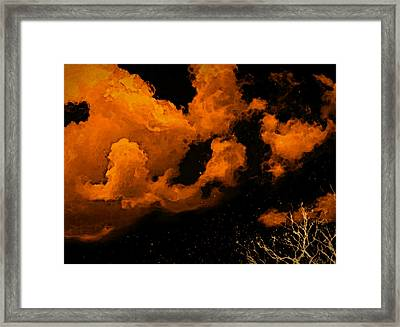 Night Clouds Framed Print