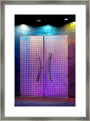 Night Club Entrance Framed Print
