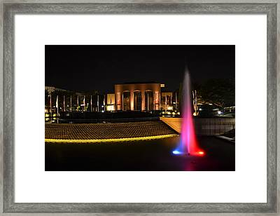 Night Color Framed Print