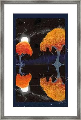 Night Companions  Framed Print