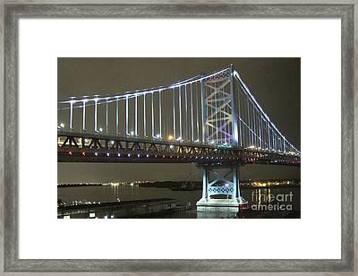 Night Crossing Framed Print by Rick  Monyahan