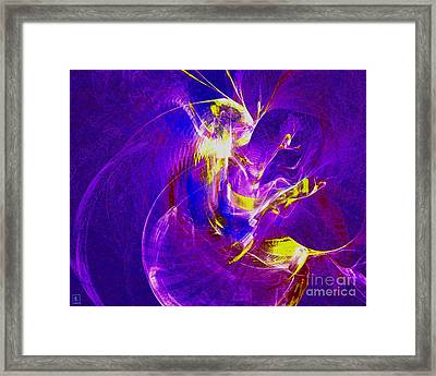 Night Dancer 1 Framed Print