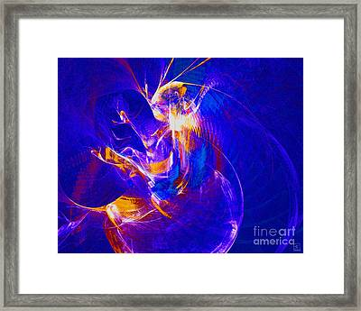 Night Dancer 2 Framed Print