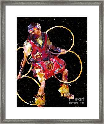 Night Dancer Framed Print by Linda  Parker