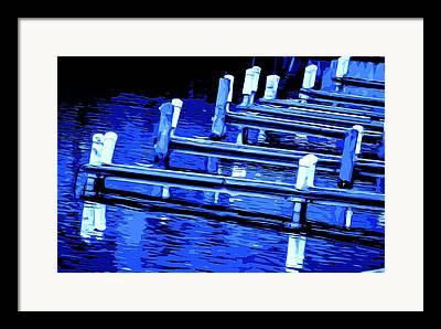 Wooden Platform Mixed Media Framed Prints