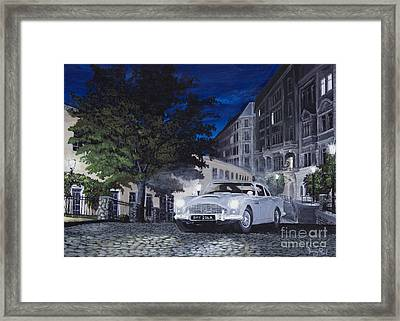 Night Drive Framed Print by Jeremy Reed