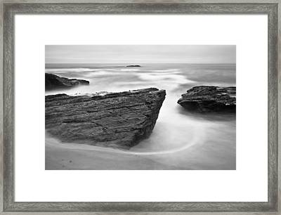 Framed Print featuring the photograph Night Fall by Jonathan Nguyen