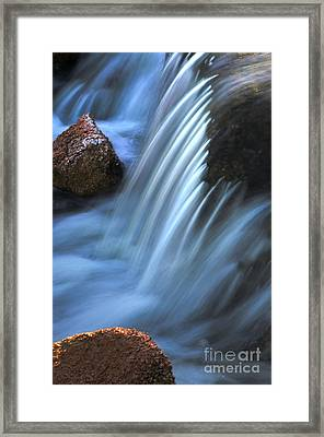 Night Falls Framed Print by Deb Halloran