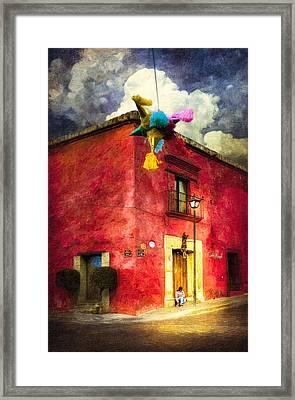 Night Falls On Oaxaca - Festive Mexico Framed Print by Mark E Tisdale