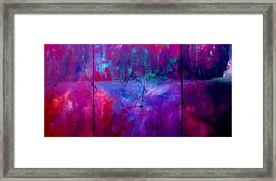 Night Falls Upon Framed Print