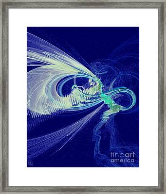 Night Flight Framed Print