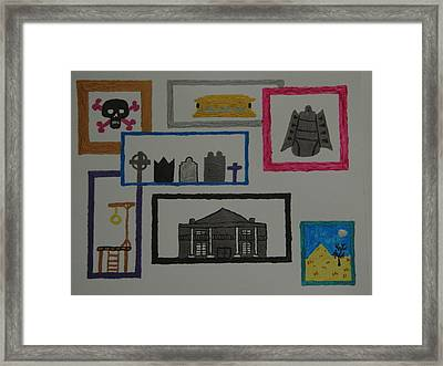 Night Gallery Framed Print by Terry Baker