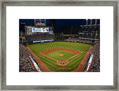 Night Game Framed Print by Frozen in Time Fine Art Photography