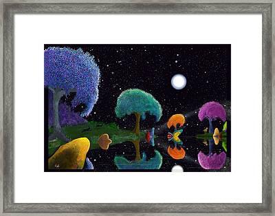 Night Games Framed Print