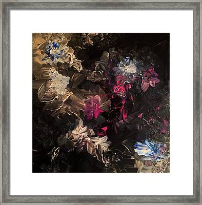 Night Garden Framed Print
