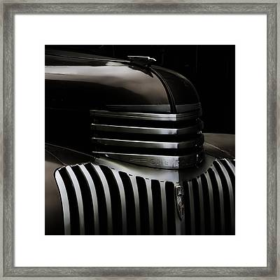 Night Grille Framed Print by Ken Smith