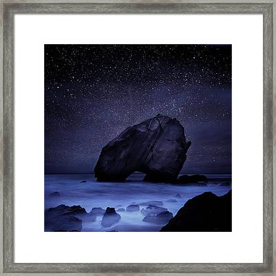 Night Guardian Framed Print