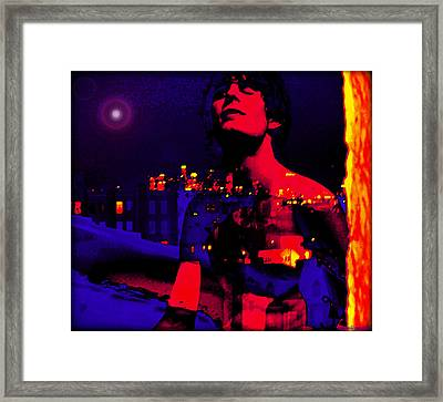 Night In The City Looks Pretty Looks Pretty To Me Framed Print