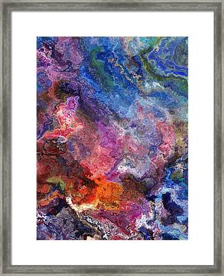 Night In The Mountains Framed Print by Jury Onyxman