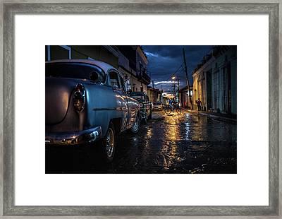 Night In Trinidad Framed Print