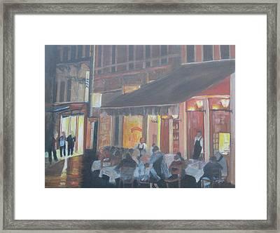 Night In Venice Framed Print