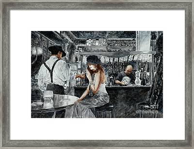 Night Life Framed Print by Theo Michael