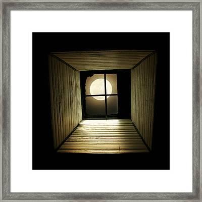 Night Light Framed Print by Amy Tyler