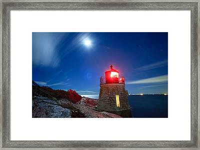 Night Light Framed Print by Bryan Bzdula