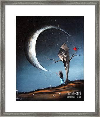 Night Light By Shawna Erback Framed Print by Shawna Erback