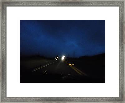 Night Light Series No.4 Framed Print