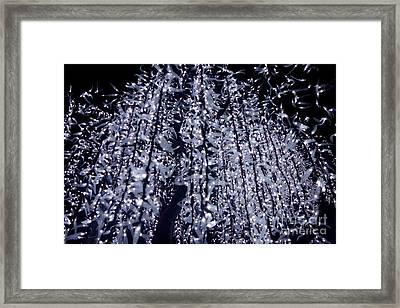 Night Lights Framed Print