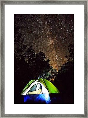 Night Lights Framed Print by Matt Helm