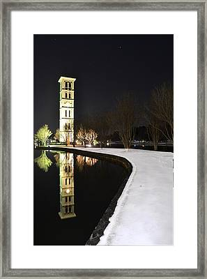 Night Mirror Framed Print