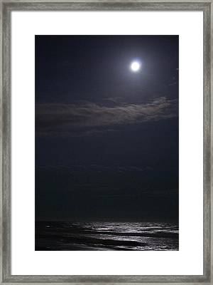 Night Moon Sun 161 Framed Print