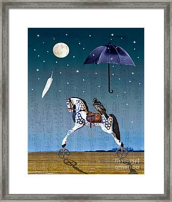 Night Music Framed Print by Judy Wood