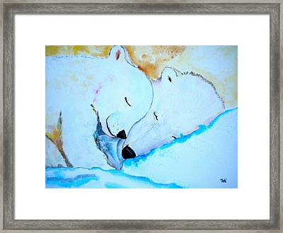 Night Night Framed Print by Debi Starr