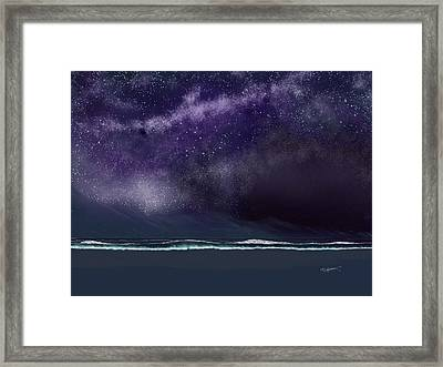 Night Of A Thousand Stars Framed Print by Anthony Fishburne