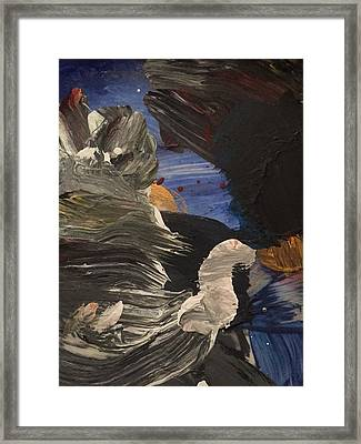 Night Of Deceit Xlv Framed Print by Edward Paul