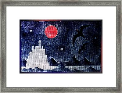 Night Of The Blood Moon Framed Print by Hartmut Jager