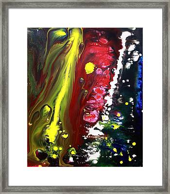 Night Of The Comet 2 Framed Print by Laura Barbosa