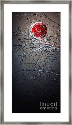 Night Of The Eclipse Panel 1 Framed Print by Teshia Art