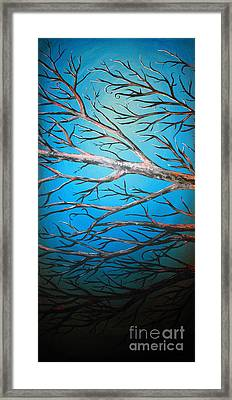 Night Of The Eclipse Panel 2 Framed Print