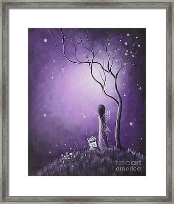Original Fairy Artwork By Shawna Erback Framed Print