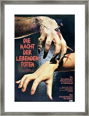 Night Of The Living Dead, Aka Die Nacht Framed Print