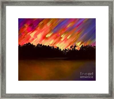 Night Of Wonder Framed Print