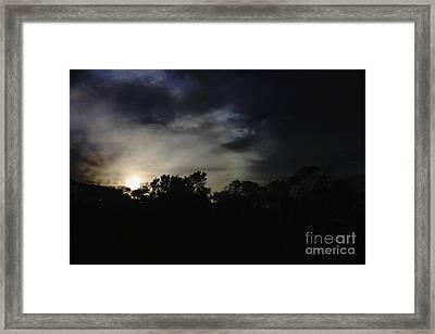Night On Bells Beach I Framed Print by Amanda Holmes Tzafrir