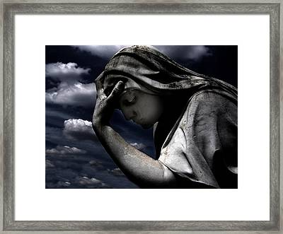 Night Once More Framed Print by Ramon Fernandez