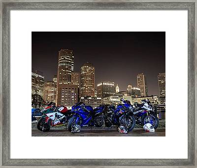 Night Out Framed Print by Lawrence Christopher