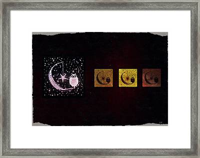 Night Owls Framed Print by Sherry Flaker